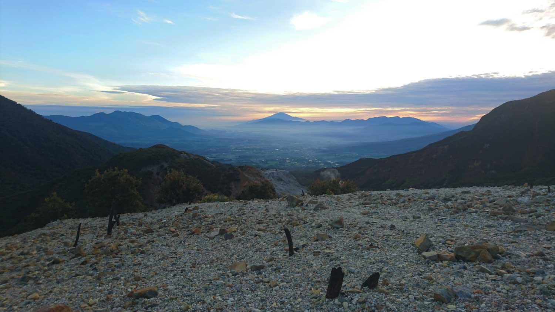 eazycation-hiking at Mount Papandayan